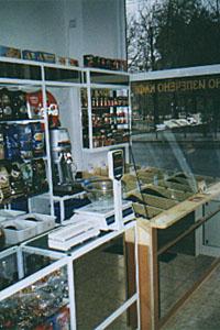 Витрини за магазин за цигари и алкохол