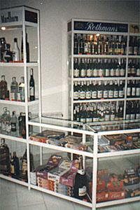 Обзавеждане за магазини за алкохол