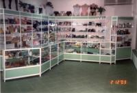 Стелажи за магазини за дрехи