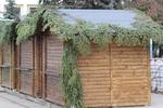 дървен павилион за продажба до 4кв.м  по поръчка